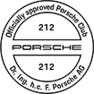 Officially approved Porsche Club 212